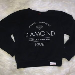 Diamond supply co. Pull over